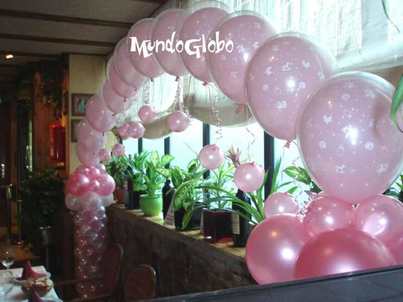 Decoracion bautizo en casa decoracion en globos ideas for Decoracion bautizo en casa