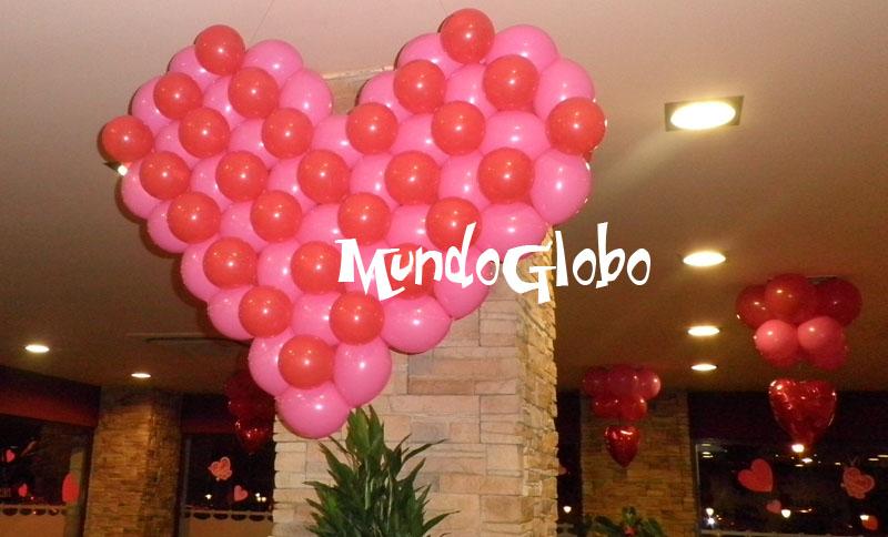 Mundoglobo preparaci n de fiestas for Decoracion de pared para san valentin